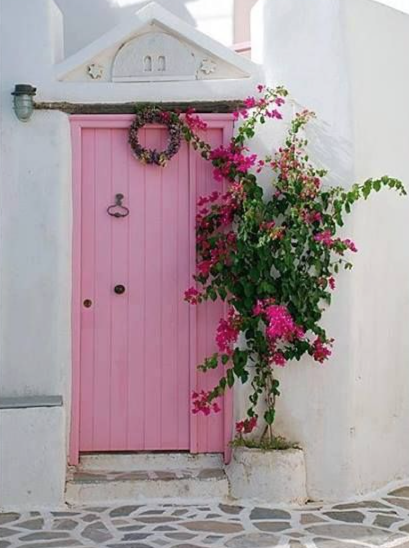 Give Your Front Door Personality With Color:: – Bourbon Blonde