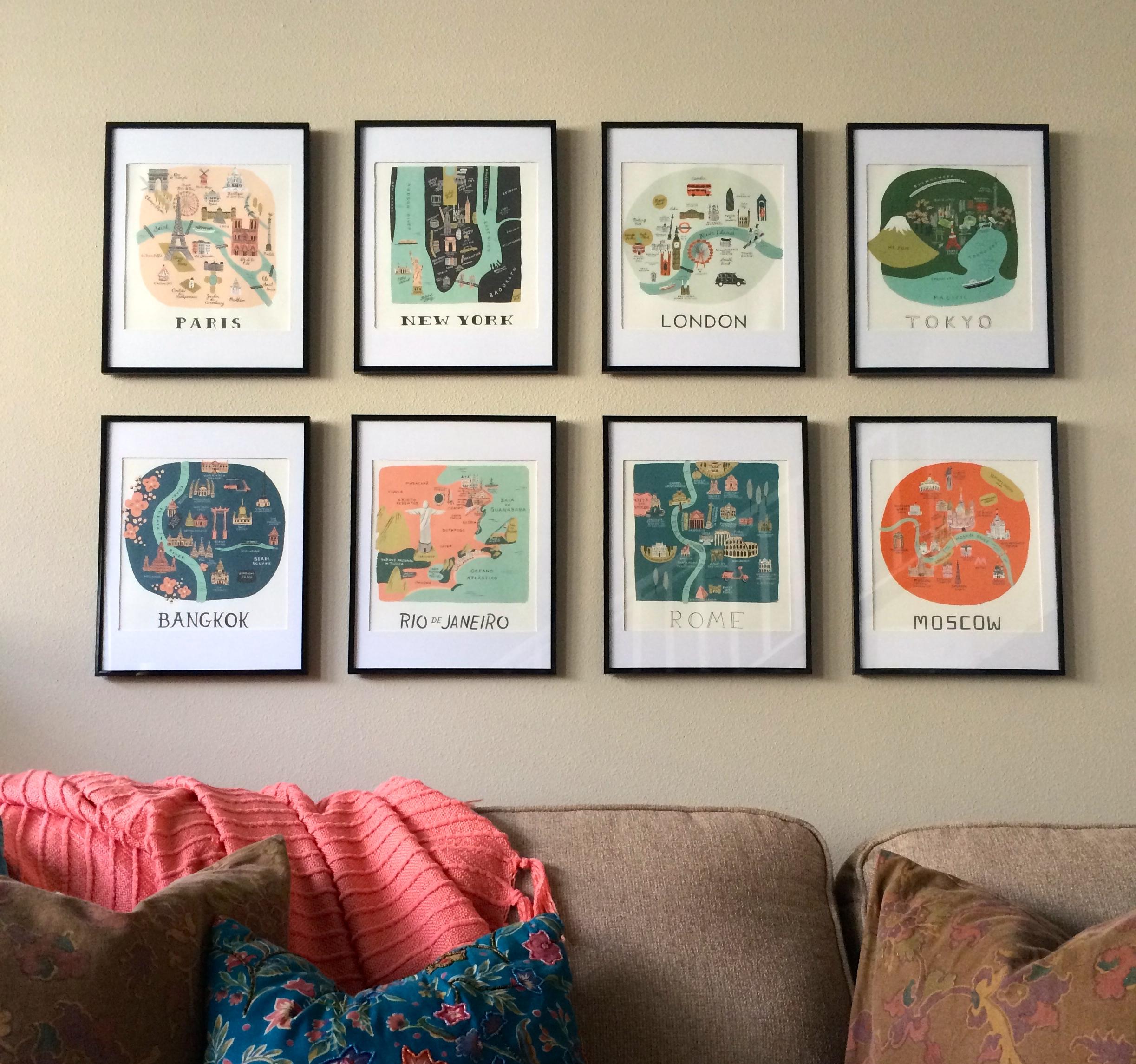From Pretty Calendar To Beautiful Wall Art:: – Bourbon Blonde
