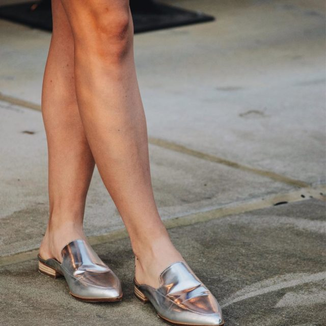 Absolutely cannot resist a metallic shoe Theyre like kryptonite! hellip
